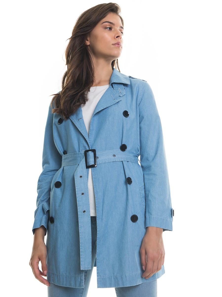 Плащ - Тренч женский BS RADINORA COAT 150 BLUE DNM