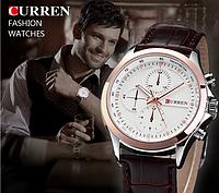 [ Часы наручные Curren ] Мужские наручные кварцевые часы