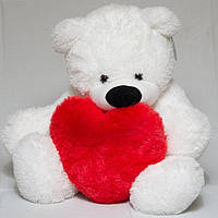 Медведь 110 см с Сердцем 40 см девушке