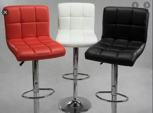 Барный стул HOKER  BONRO  с Подставкой для ног(120 кг нагрузка)