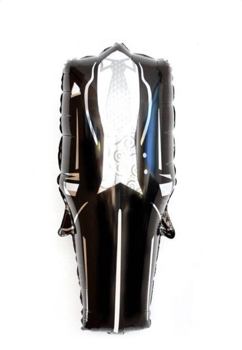 Фольгована кулька фігури Костюм нареченого 38х82см