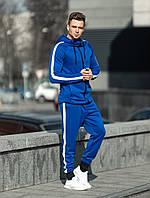 Мужской спортивный костюм Asos tech-diving с лампасами В1 (синий)