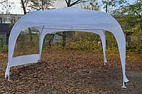 Разборной арочный шатер 5х5м для торговли, промо шатер с окном из прозрачной ПВХ