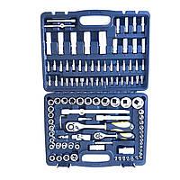 Набор инструментов универсальный Сталь 108 предметов. Ручной инструмент профессиональный.