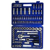 Набор инструментов для авто Werker 108 предметов, набор торцевые головки, биты, трещотки.