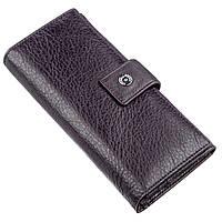 Красивий жіночий гаманець Boston 18846 Фіолетово-сірий, Фіолетово-сірий