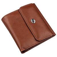 Женское портмоне с монетницей ST Leather 18917 Коричневый, Коричневый, фото 1