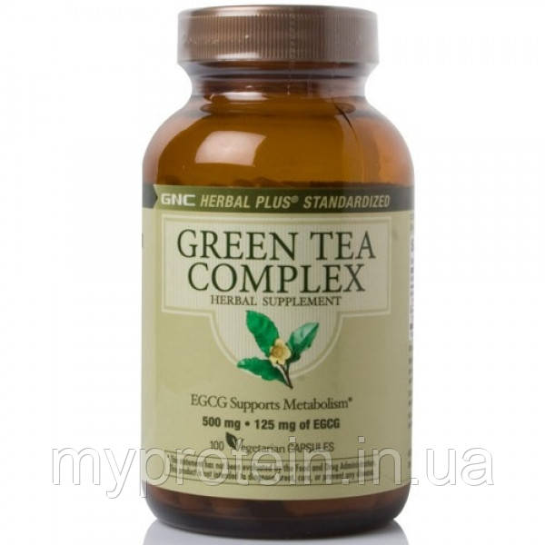 GNC Зеленый чай Green Tea Complex (100 caps)