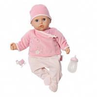 Кукла интерактивная My first Baby Annabell Настоящая малышка 36 см со звуком и аксессуарами