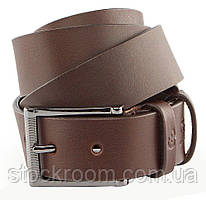 Ремень мужской GRANDE PELLE 00235 кожаный коричневый