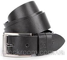 Ремень мужской GRANDE PELLE 00864 Черный, Черный