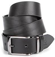 Ремень мужской кожаный GRANDE PELLE 00872 Черный