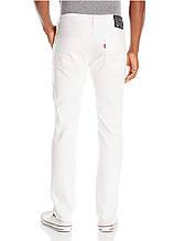 Джинсы Levis 511 Slim Fit White