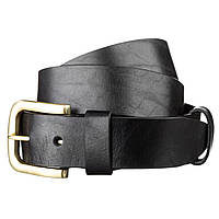 Ремень мужской SHVIGEL 15271 кожаный Черный, Черный, фото 1