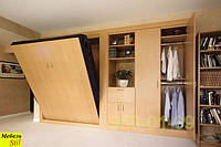 Шкаф-кровать трансформер из ламинированного ДСП в гостиную
