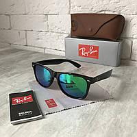 Солнцезащитные очки RAY BAN Wayfarer 2140 зелёный Polarized