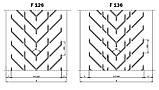 Конвейерные ленты Chevron с типом профиля F, фото 2