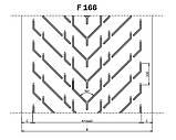 Конвейерные ленты Chevron с типом профиля F, фото 5