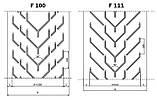 Конвейерные ленты Chevron с типом профиля F, фото 6