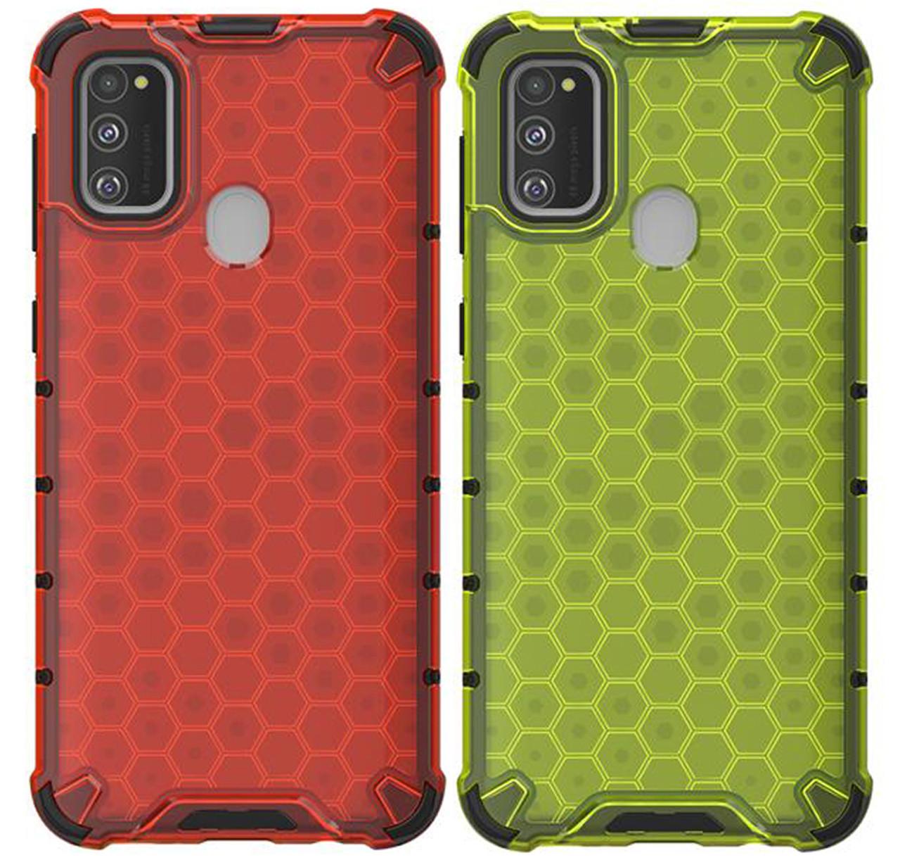 Противоударный чехол Transformer Honeycomb для Samsung Galaxy M30s SM-M307F