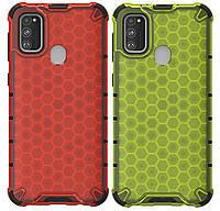 Противоударный чехол Transformer Honeycomb для Samsung Galaxy M30s SM-M307F, фото 1