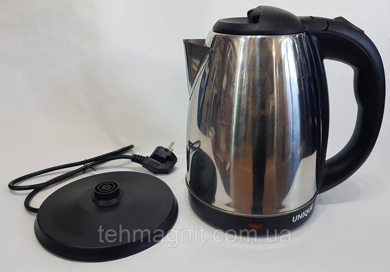 Электрический дисковый чайник 2л. UNIQUE UN-501