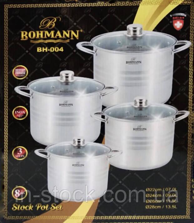 Набір каструль Bohmann BH 004