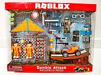 Набор Роблокс zombie attack (Roblex) коллекционные фигурки — дельтаплан