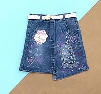 Юбка джинсовая для девочки. 3- 4,5,6 лет