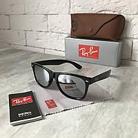 Солнцезащитные очки RAY BAN Wayfarer 2140 металлик Polarized