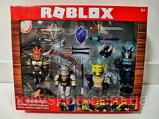 Набір Роблокс лицарі (Roblox) колекційні фігурки