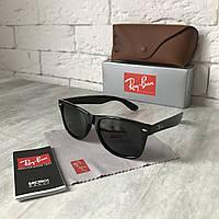 Солнцезащитные очки RAY BAN Wayfarer 2140 черный Polarized