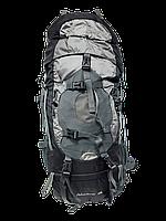 Рюкзак туристический Leadhake, каркасный 60 л Черный
