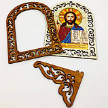 Набор для вышивки бисером IKF-04 Святая Богородица Семистрельная, фото 3