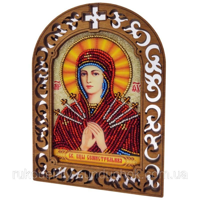 Набор для вышивки бисером IKF-04 Святая Богородица Семистрельная