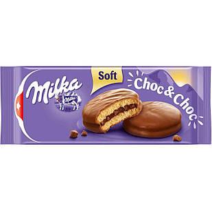 Бисквиты Milka Soft Choc&Choc, 150 грамм