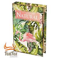 Книга сейф с кодовым замком Flamingo 26 см