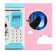 Копилка-сейф детская  Сканер отпечатка пальца Кодовый замок Ультрафиолет, фото 4