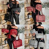 Женский набор сумок 6 в 1 №7755 в расцветках, фото 1
