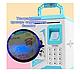 Копилка-сейф детская  Сканер отпечатка пальца Кодовый замок Ультрафиолет, фото 5