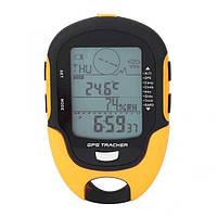 Метеостанция + GPS трекер SUNROAD FR510 Многофункциональный цифровой барометр, компас.