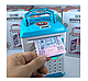 Копилка-сейф детская  Сканер отпечатка пальца Кодовый замок Ультрафиолет, фото 6