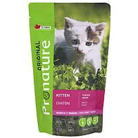 Сухой корм Pronature Original Kitten Chicken 30/18 (скурицей для котят), 340гр