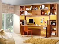Стол-кровать трансформер, встроенный в детский гарнитур, фото 1