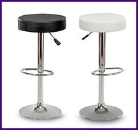 """Барный стул HOKER BONRO PORTO с Подставкой для ног(120 кг нагрузка)""""Черный"""