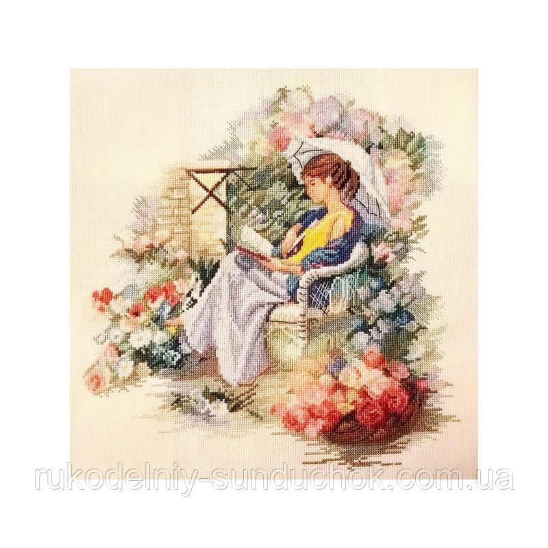 Набор для вышивания крестом ТМ Марья Искусница 08.004.01 Летний сад