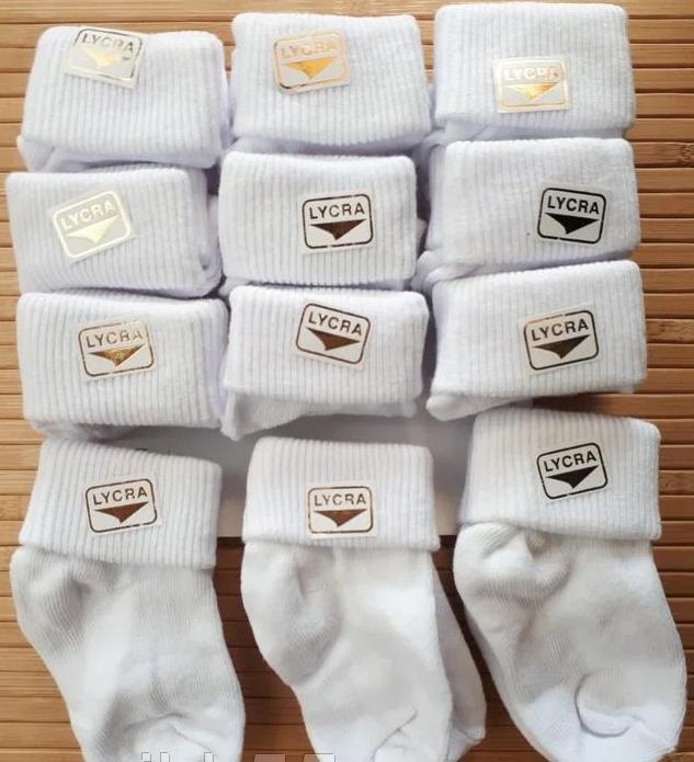 Носки белые на 2-3 года.