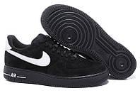 Черные кроссовки Nike Air Force Low