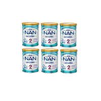 Nestle. NAN 2, с 6 мес. 6х800 г (1261)