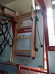 Складні горищні сходи польського виробництва OMAN